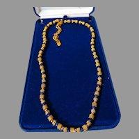 Vintage JBK Jackie Kennedy Camrose Kross Necklace w COA