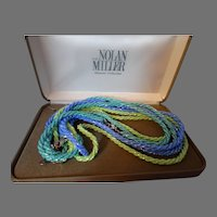 Nolan Miller Design Couture Costume Bead Necklace Trio