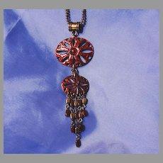 Babylone Paris Exclusive Necklace Vintage Pendant Lavalier