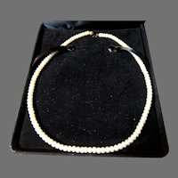 Honora Cultured Pearls 14K Gold Clasp Vintage