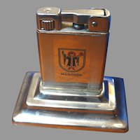 Art Deco Lighter Munchen Cigarette Lighter