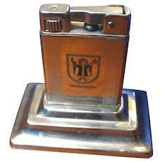 Art Deco Lighter Munchen Cigarette Lighter