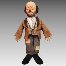 Emmett Kelly Willy the Clown Doll Vintage Mid Century