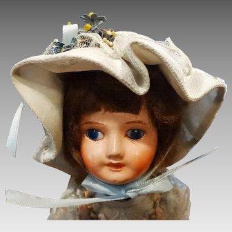 SFBJ Doll Paris 5/0 Scarce Fine Composition Bluette Head Composition Body