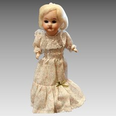 Antique Recknagel German Bisque Doll 10""