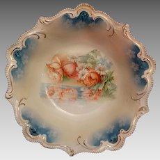 Antique Porcelain RS Prussia Serving Bowl