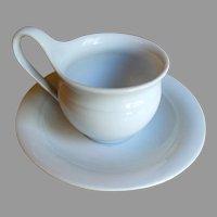 KPM Berlin Porcelain Cup and Saucer  1844-1847