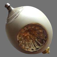 Victorian German Ornament Large Blown Mercury Glass