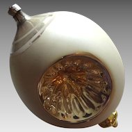 Victorian German Ornament Large Blown Mercury Glass