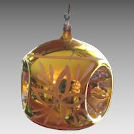 Victorian German Hand Blown Christmas Ornament