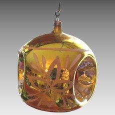 Victorian German Hand Blown Christmas Ornament