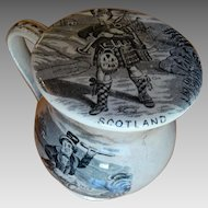 Scarce Antique Staffordshire Pottery Treacle Pot Treacle Jar