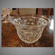 "Fostoria Glass American 4 ¾"" Fruit Bowl"