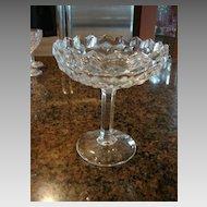 """Fostoria Glass American 6 ¼"""" Compote"""