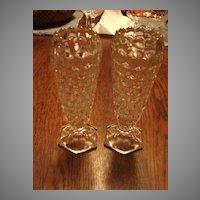 "Fostoria Glass American 6"" Bud Vase"