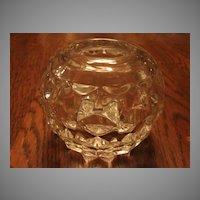 "Fostoria Glass American 3 ½"" Rose Bowl"