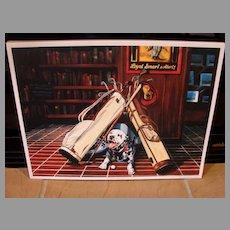 "Sports Golf Art  Jason Denaro Limited Edition Print ""The Lost Ball""  Rare Artist Proof"