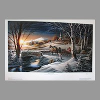 "Terry Redlin ""Almost Home"" Limited Edition Fine Art Print"