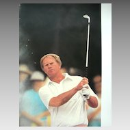 """Golf Sports Arts Limited Edition Print Jack Nicklaus, """"The Master's Touch"""",  Daniel M. Smith Artist Vintage Serigraph"""
