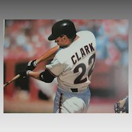 """Baseball Sports Limited Edition Print  """"The Natural""""  Daniel M. Smith Artist  & Will, """"The Thrill"""", Clark Signed"""