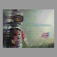 "G. Harvey Limited Edition Print ""Pinnacle of Freedom"" Historical Treasury Collection"