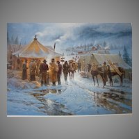 :    Forty-Niners G. Harvey Limited Edition Print Smithsonian Edition Vintage