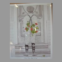 "Kim Reinmuth Limited Edition Print ""I Don't Know What To Say"""