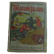 Victorian Treasure Island by Robert Louis Stevenson Young Reader edition with 70 illustrations Antique Book