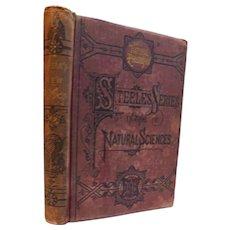 1878 Fourteen Weeks In Physics by J. Dorman Steele Illustrated School Science Victorian Book