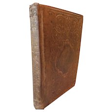 1857 The Rose of Sharon or Gems of Sacred Poetry Selection of Poems From Famous Poets Pocket Size Book on Christian Life Character Morality God Jesus Christ Victorian Antique