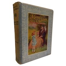 1926 Maxa's Children by Johanna  Spyri Vintage Book Illustrated by Frances Brundage