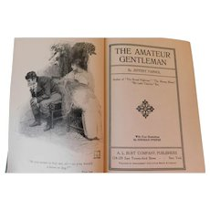 The Amateur Gentleman by Jeffrey Farnol with Illustrations by Herman Pfeifer Regency Era London Romance Mystery Adventure Antique 1913