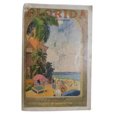 1930s Florida Department of Agriculture Bureau of Immigration Tourist Brochure Book Advertising Photographs Sites Tourism Travel