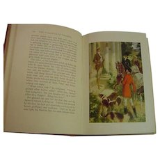 The Valiants of Virginia Hallie Erminie Rives Antique Book 1912 Castaigne Illustrated Color Plates ADventure Romance