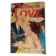 1959 Falling In Love #25 Game of Jealousy Silver Age Romance Comic Book Vintage Illustrated Stories