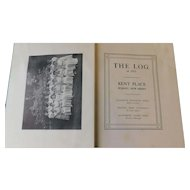 1911 Kent Place Summit New Jersey The Log Yearbook Antique Edwardian Private Girls College Prep School Book
