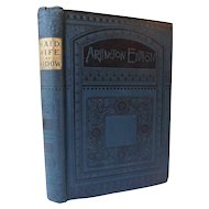 Maid, Wife, Or Widow? By Mrs. Alexander 1866 Austro-Prussian War Saxon & My Friend Jim by W.E. Norris Antique Victorian Fine Binding Arlington Edition 2 Books in 1