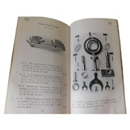 1914 Pratt & Whitney Co. Small Tool Department Hartford Conn. Antique Catalogue Dies Milling Lathe Ratchets Book Catalog