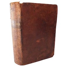 1841 The Holy Bible American Bible John Sutherland Abigail Ann Pratt or Platt Tallmadge Antique Old and New Testaments