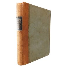 1873 The School Laws of Michigan with Explanatory Notes Also Forms For Proceedings Under the School Law Daniel Briggs Antique Victorian Book