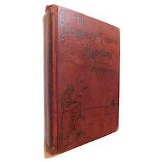 1902 Beginner's American History Discovery America 30 Biographies Most Representative Men Illus & Maps Victorian School Childrens Book