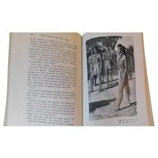 The Bridge of the Gods A Romance of Indian Oregon by F.H. Balch Native American Legend Novel Illustrated by Dixon Antique Victorian Book