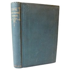 1867 House and Home Papers by Harriet Beecher Stowe Economy Cookery Servants Decor Patriotism Buy American Antique Victorian Book