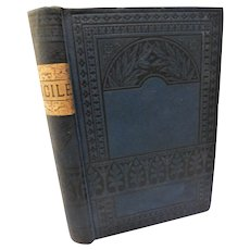 1880 Lucile by Owen Meredith Robert Bulwer-Lytton Poem Poetry Victorian Antique Book Fine Binding Crimean War Era Romance