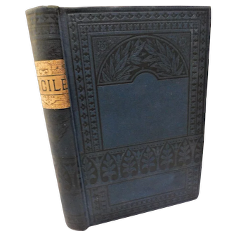 1880 Lucile by Owen Meredith Robert Bulwer-Lytton Poem Poetry Victorian Antique Book Fine Binding
