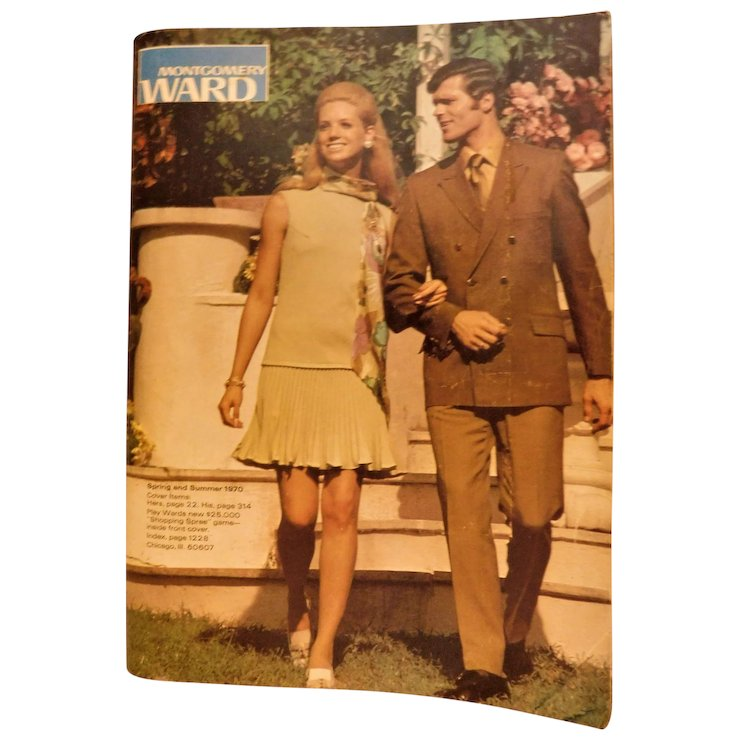 1970 Montgomery Ward Department Store Spring And Summer Catalog Backwoods Treasure Antiques