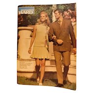 1970 Montgomery Ward Department Store Spring and Summer Catalog Vintage Fashion Clothing Sports Furniture Boats Catalogue