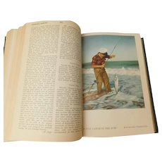 1952 The Wise Fishermen's Encyclopedia Handbook Covering Game Fish of the World & How To Catch Them by McClane Vintage Fishing Book Illustrated