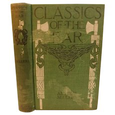 1910 Classics of the Bar Stories of World's Great Jury Trials and a Compilation of Forensic Masterpieces by Sellers Antique Crime Law Legal Book