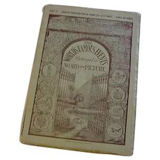 1913 World's Famous Events 12 Antique Full Page Engravings Paintings Book with History of the Art